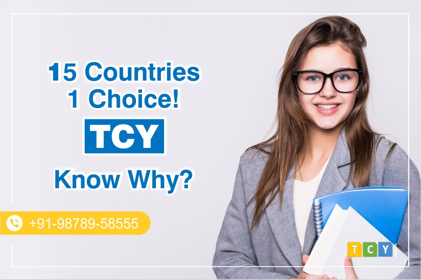 15+ Countries, 1 Choice. TCY! Know Why?