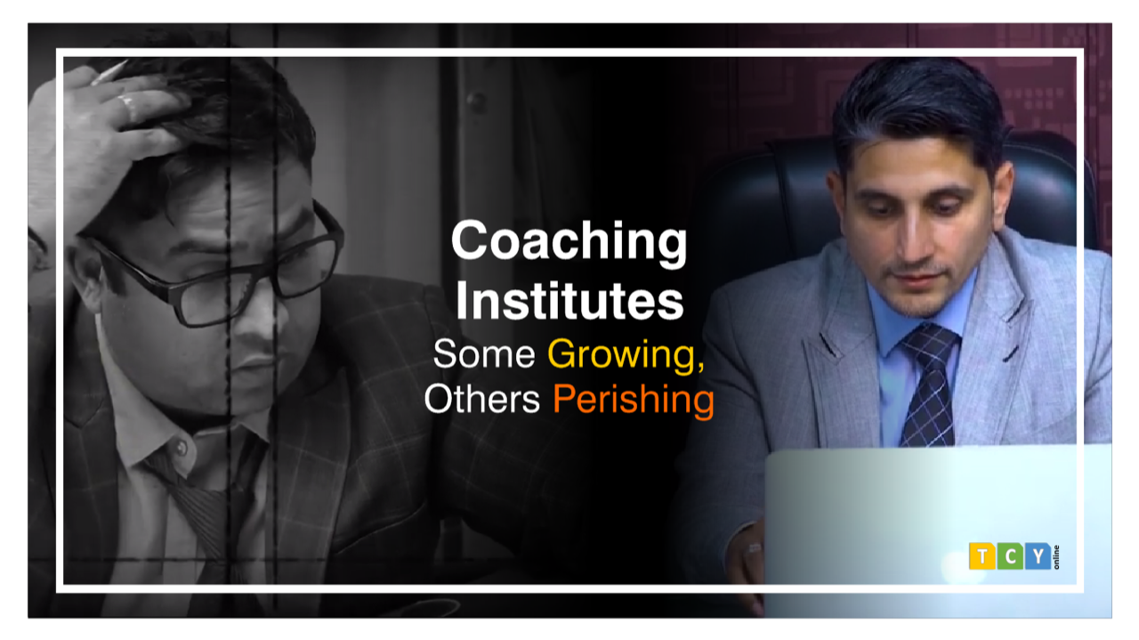 Coaching Institutes: Some Growing, Others Perishing