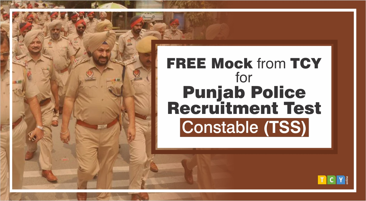 Free Mock for Punjab Police Recruitment Test (Constable-TSS)