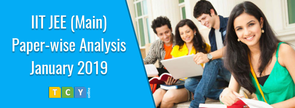 IIT JEE (Main) Paper-wise Analysis - January 2019