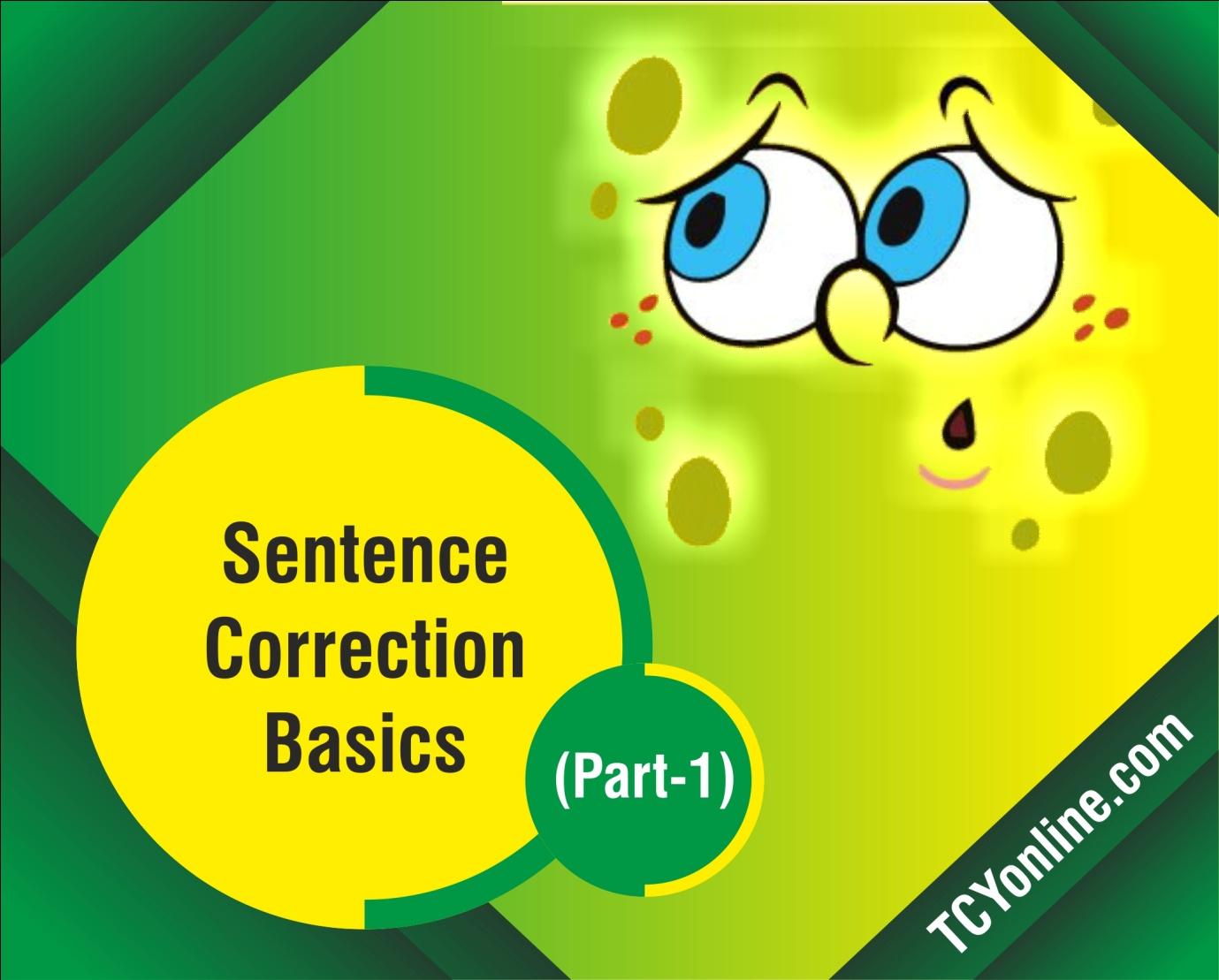 GMAT Sentence Correction Basics